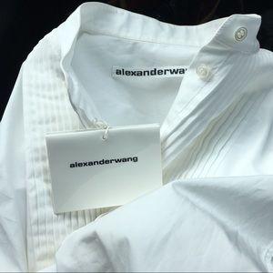 Alexander wang dress shirt
